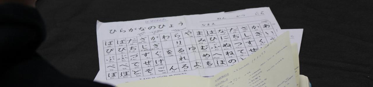 Aula de llengua japonesa: Iniciació | del 9 d'octubre al 18 de desembre | 11 h